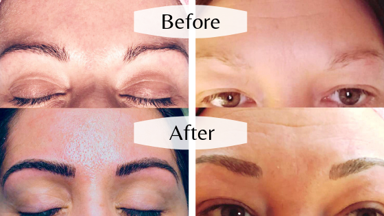 Eyebrow Microblading - Bella Papilio located downtown Midland